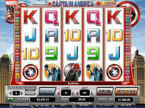 Captain America Action Stacks